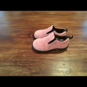 Merrell dusty rose jungle mod loafers toddler 7/24